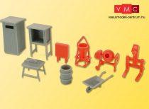 Kibri 38140 Deko-Set: Építkezési eszközök és szerszámok