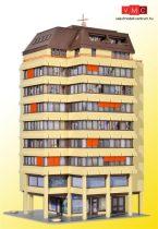 kibri 38218 H0 Hochhaus mit Ladenpassage und Penthauswohnung inkl. Etageninnenbeleuchtung