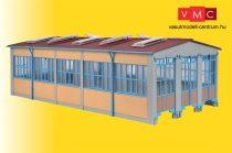 Kibri 39450 Modern fűtőház, 3-állásos (H0)