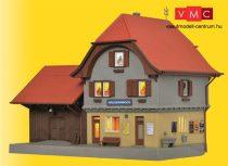 Kibri 39490 Vasútállomás Haeusermoos, világítással (H0)