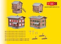 Kibri 39495 Walser falukészlet - Davos (H0)
