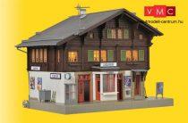 Kibri 39497 Vasútállomás Litziruti, világítással (H0)