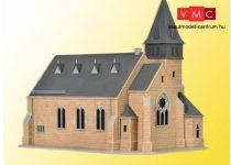 Kibri 39766 Westerwald templom kőkerítéssel