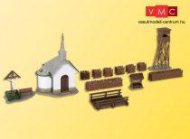 Kibri 39780 Hirschbichl kápolna kiegészítőkkel