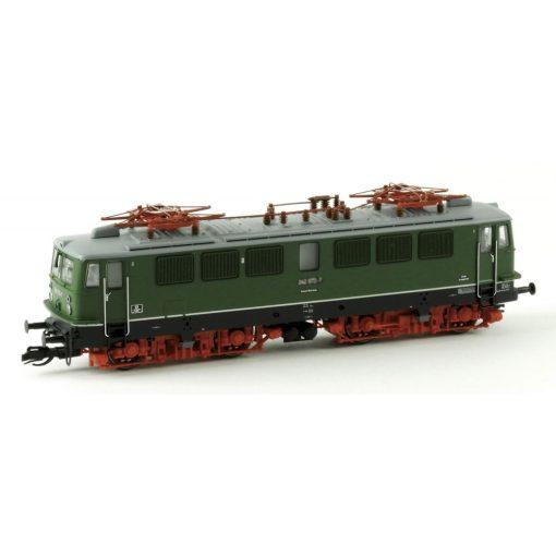 Kuehn 31634 Villanymozdony BR 211, zöld, 6 szellőzővel, DR (E4) (TT)