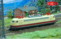 Kuehn 32560 Villanymozdony BR 103, hosszú vezetőállással, DB-AG, vörös/bézs (TT)