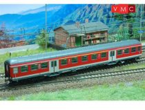 Kuehn 41322 Személykocsi (Silberling), négytengelyes 1/2.osztály, DB-AG Regio, közlekedésv