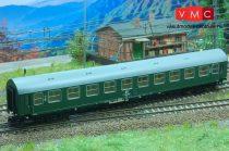 Kuehn 41682 Személykocsi (YB/70), négytengelyes Y sorozat, 2. osztály, DR, zöld, második p