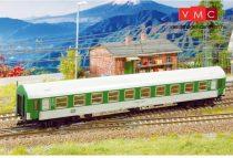 Kuehn 41730 Személykocsi (YB/70), négytengelyes Y sorozat, 2. osztály, CD, zöld/fehér (TT)