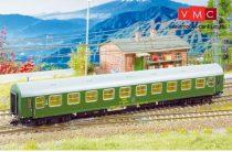 Kuehn 41734 Személykocsi (YB/70), négytengelyes Y sorozat, 2. osztály, CSD, zöld (TT)