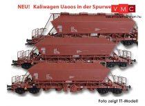 Kuehn 93012 Mészszállító négytengelyes önürítős teherkocsi-készlet, 3-részes Uaoos93