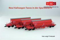 Kuehn 93032 Mészszállító négytengelyes önürítős teherkocsi-készlet, 3-részes Taoos89
