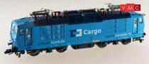 Kuehn 95022 Villanymozdony BR 372, kék, CD Cargo (E5) (N)