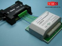 LDT 020002 GBM-8-F as finished module: 8-fold track occupancy detector for the Roco feedback mo