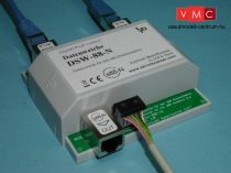LDT 040111 DSW-88-N-B as kit: With the data switch DSW-88-N is it possible to split the s88-fee