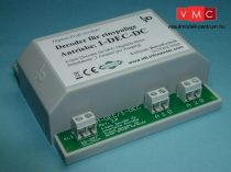 LDT 110413 1-DEC-DC-G as finished module in a case: 4-fold turnout decoder for LGB-Drive EPL 12