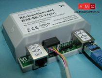 LDT 310103 RM-88-N-O-G as finished module in a case: 16-fold feedback module with galvanic sepa