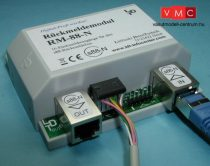 LDT 310112 RM-88-N-F as finished module: 16-fold feedback module for the s88-feedback bus. For