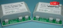 LDT 410413 M-DEC-DC-G as finished module in a case: 4-fold decoder for motor driven turnouts wi