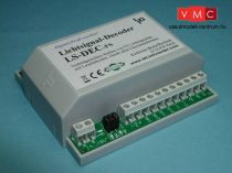 LDT 510213 LS-DEC-FS-G as finished module in a case: 4-fold light signal decoder for up to four