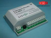 LDT 510313 LS-DEC-SJ-G as finished module in a case: 4-fold light signal decoder for up to four