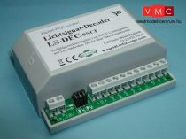 LDT 510413 LS-DEC-SNCF-G as finished module in a case: 4-fold light signal decoder for up to fo