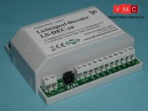 LDT 512013 LS-DEC-DB-G as finished module in a case: 4-fold light signal decoder for 4 LED equi