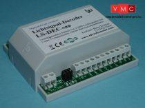 LDT 513013 LS-DEC-SBB-G as finished module in a case: 4-fold light signal decoder for 2 LED equ