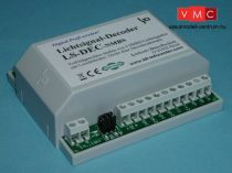 LDT 518013 LS-DEC-NMBS-G as finished module in a case: 4-fold light signal decoder for 4 LED eq