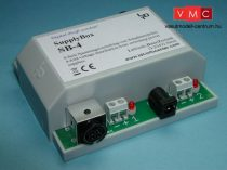 LDT 600603 SB-4-G as finished module in a case: SupplyBox: 4-fold voltage distribution from swi
