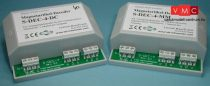 LDT 910312 S-DEC-4-MM-F as finished module: 4-fold turnout decoder with self learning decoder a