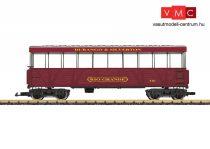 LGB 30261 Amerikai négytengelyes személykocsi, kilátókocsi - Durango & Silverton Railroad (E6) (G)