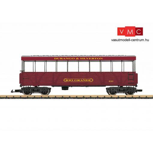 LGB 30261 Amerikai négytengelyes személykocsi, kilátókocsi - Durango & Silverton Railroad (