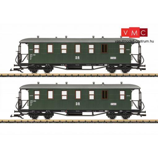 LGB 31352 Személykocsi-pár, négytengelyes 2. osztály, DR (E3-6) (G)