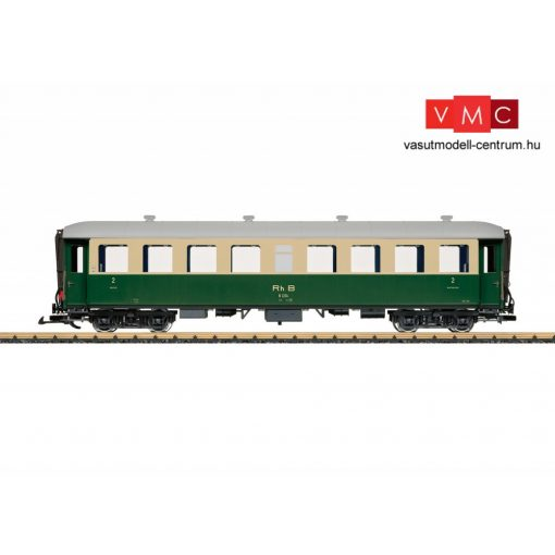 LGB 32522 Személykocsi, négytengelyes 2. osztály, RhB (E3) (G)