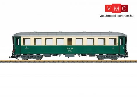 LGB 32523 Személykocsi, négytengelyes B 2. osztály, RhB (E3) (G)