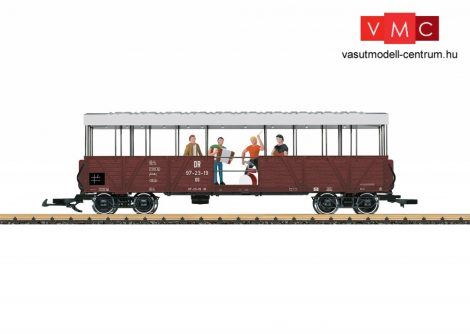 LGB 33350 Off. Güterwagen m. Band