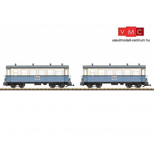 LGB 36642 Személykocsi-pár, négytengelyes AB4, Schöllenenbahn (SchB) (E3) (G)