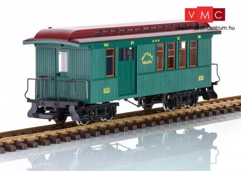 LGB 36816 Amerikai négytengelyes személykocsi - White Pass & Yukon Railroad Combine (E6) (G)