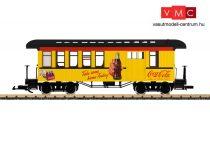 LGB 36818 Amerikai négytengelyes személykocsi poggyásztérrel, Coca-Cola® (G)