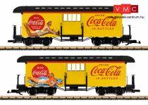 LGB 36847 Amerikai négytengelyes poggyászkocsi, Coca-Cola® (G)