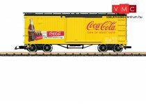 LGB 40672 Amerikai négytengelyes fedett teherkocsi - Coca-Cola® (E3) (G)