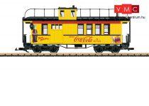 LGB 40757 Amerikai tehervonati négytengelyes kísérőkocsi (Caboose), Coca-Cola® (E3) (G)