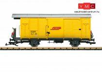 LGB 40818 Fedett pályafenntartási teherkocsi, Xk, RhB (E4) (G)