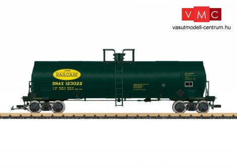 LGB 40871 Amerikai négytengelyes tartálykocsi, DNAX Railcare (E5) (G)