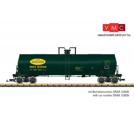 LGB 40872 Amerikai négytengelyes tartálykocsi, DNAX Railcare (E5) (G)
