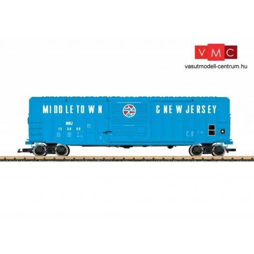 LGB 42933 Amerikai fedett négytengelyes teherkocsi, Middeltown New Jersey (E5) (G)