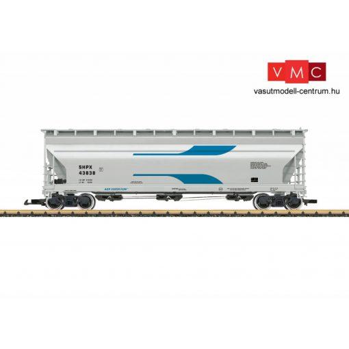 LGB 43824 Amerikai négytengelyes poranyagszállító teherkocsi, ACF SHPX (E5) (G)