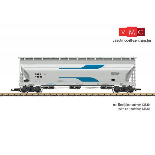 LGB 43825 Amerikai négytengelyes poranyagszállító teherkocsi, ACF SHPX (E5) (G)