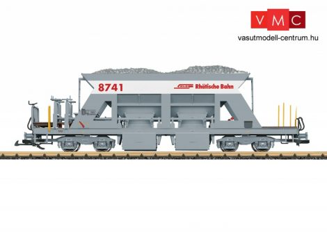 LGB 46695 Önürítős négytengelyes teherkocsi. RhB (E6) (G)